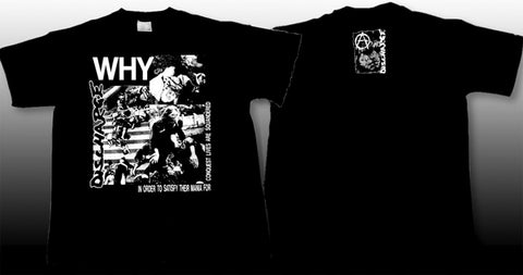 Discharge Why Mens Tshirt