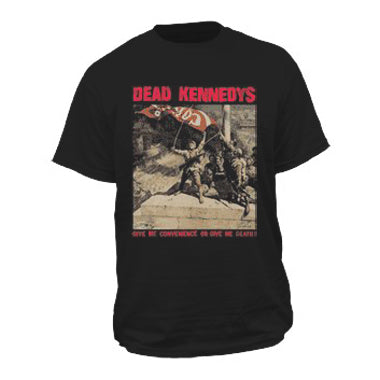 Dead Kennedys Give Me Convenience Mens Tshirt