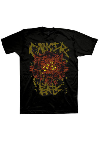 Cancer Bats GNAR Wolf T-shirt