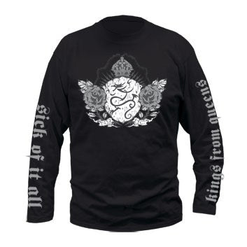 Sick Of It All Crest Mens Longsleeve