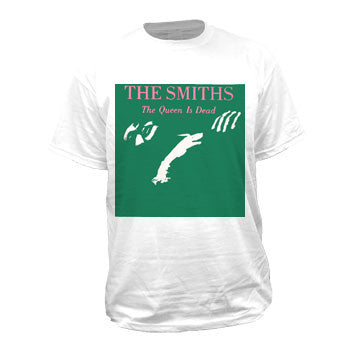 Smiths The The Queen Is Dead White Mens Tshirt