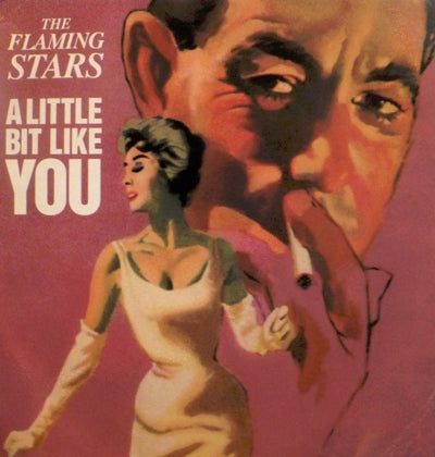 Flaming Stars The A Little Bit Like You Vinyl 7 Inch
