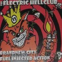 Turbo A.Cs Primer Black Faeturing the Electric Hellclub Vinyl 7 Inch
