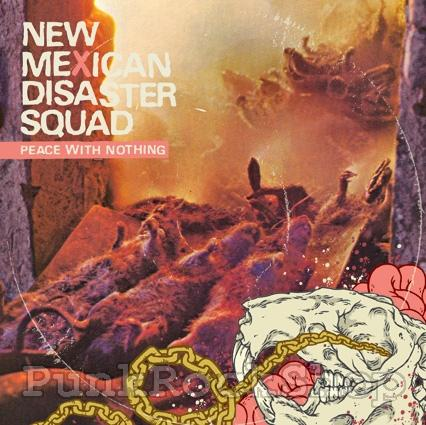 Vinyl New Mexican Disaster Squad Peace With Nothing Vinyl 7 Inch
