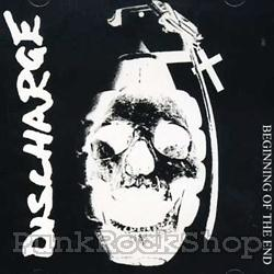 Discharge Beginning of the End Vinyl 7 Inch