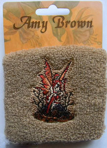 Amy Brown Little Red  Mischief Sweatband
