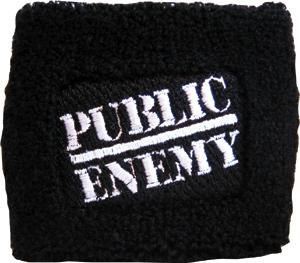 Public Enemy Logo Sweatband