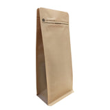 Kilitli Kraft Metalize Box Pouch