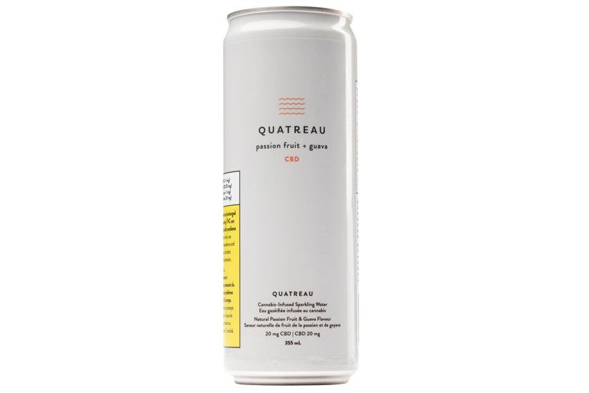 Quatreau Passionfruit and Guava Sparkling Water Drink