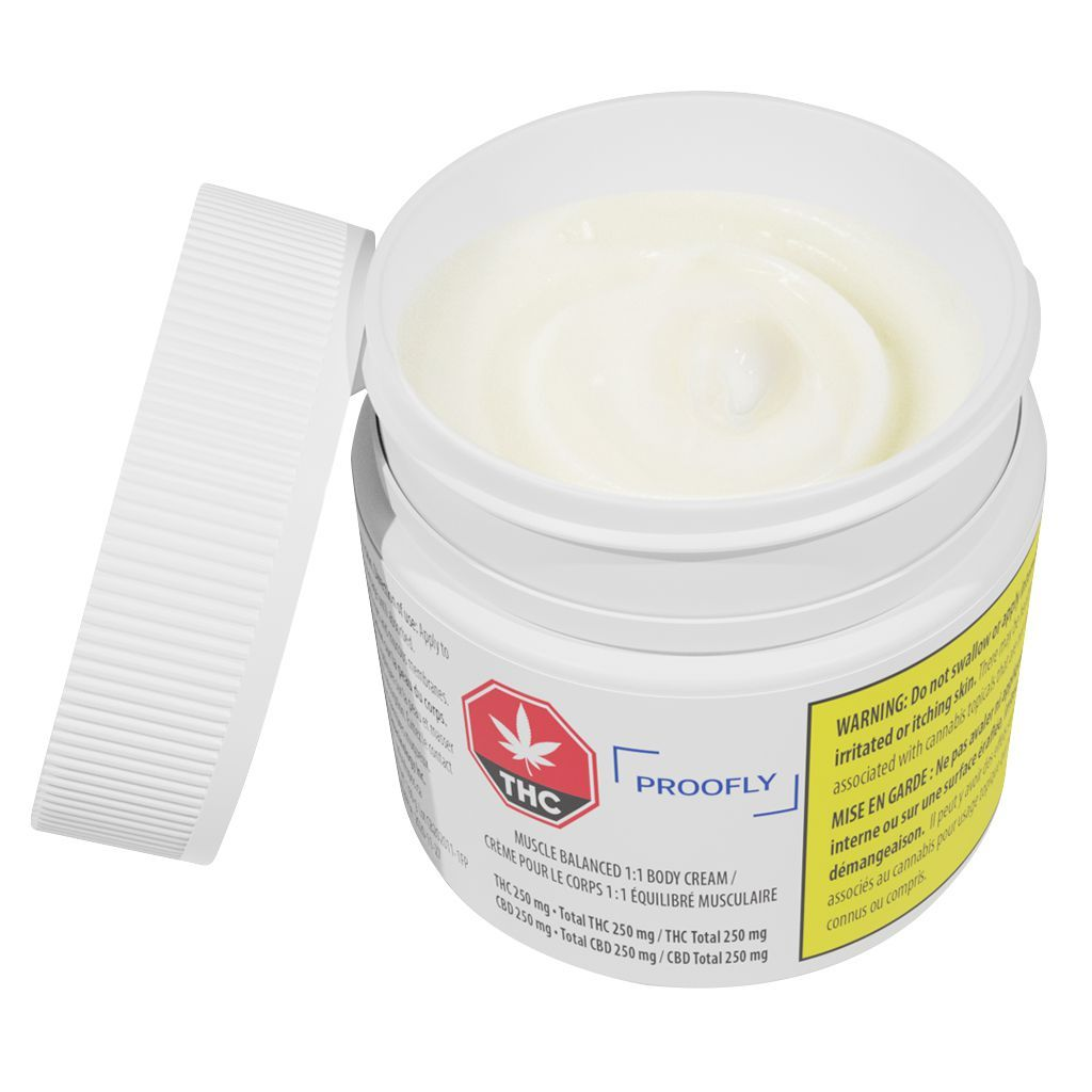 Proofly Muscle Balance 1:1 Body Cream Topical