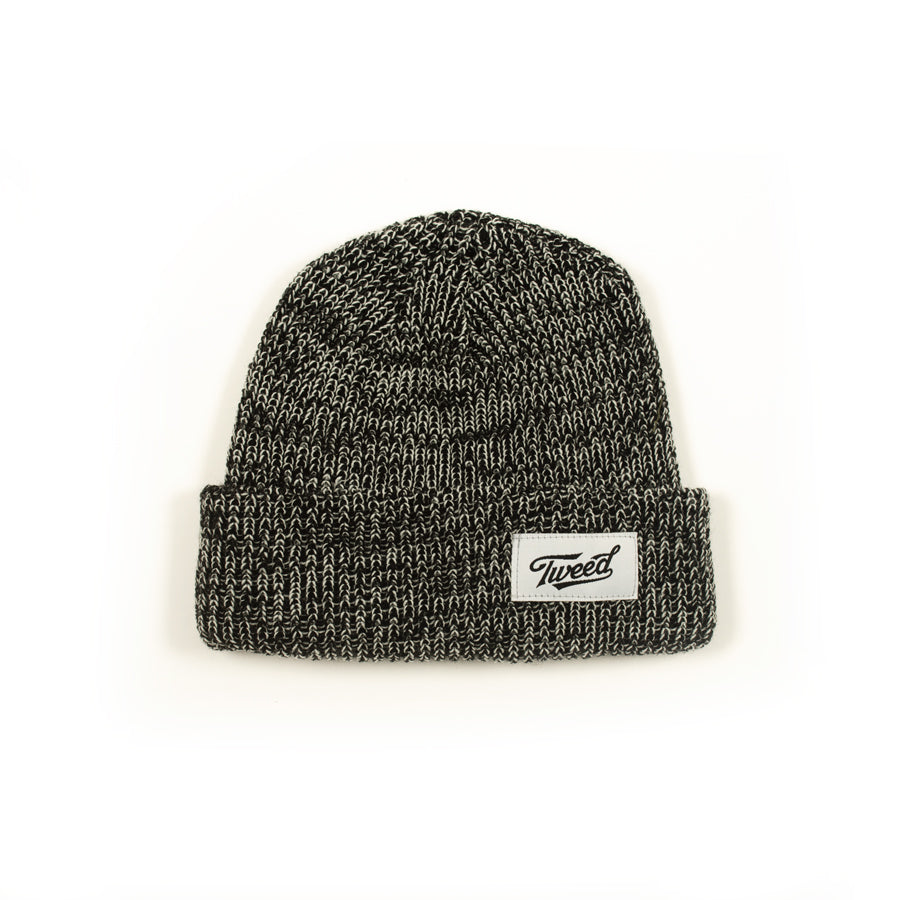 Tweed Heather Rib Beanie