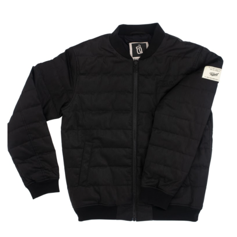 HoodLamb Mens Canopy Quilted Bomber