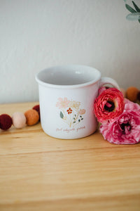 Wildflower Gratitude Mug | Ceramic Mug
