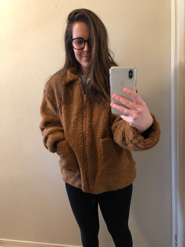 Teddy Jacket (camel)
