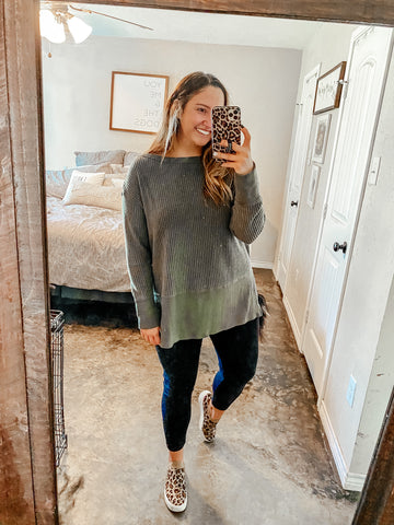 Basic Cotton Leggings (Plus)