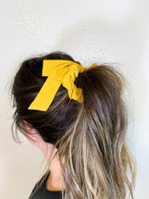 Tied in a Bow Scrunchie