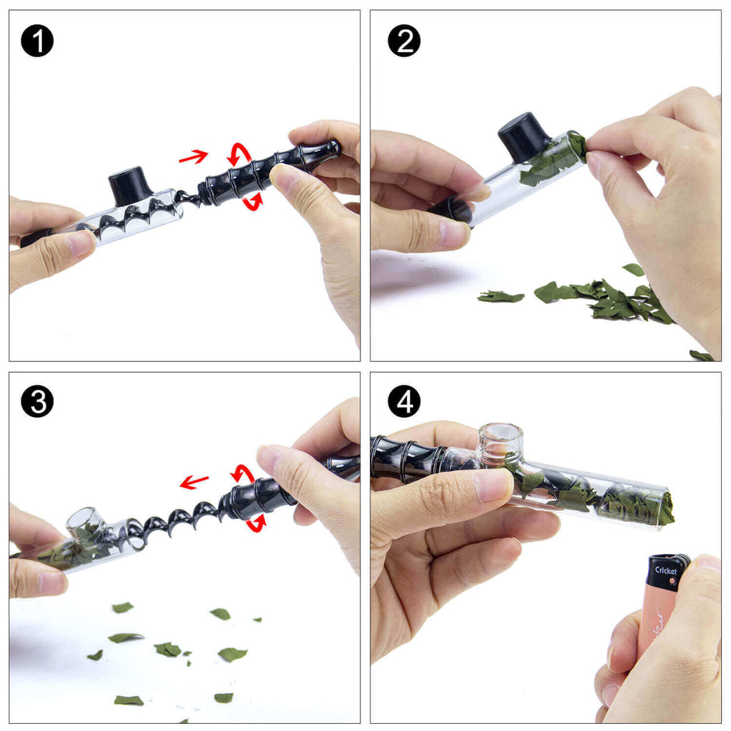How To Load Glass Blunt