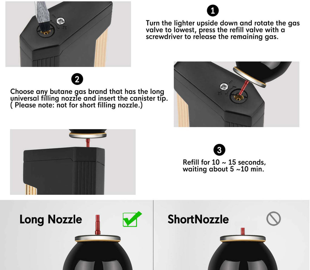 How To Refill a Torch Lighter