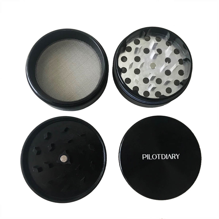 PILOTDIARY Herb Grinder - INHALCO