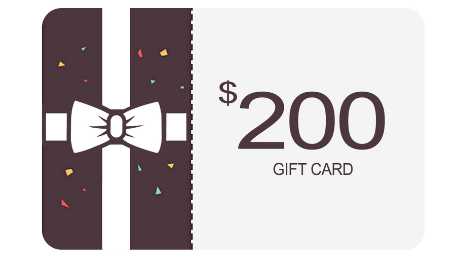 Gift Card $200 USD - INHALCO