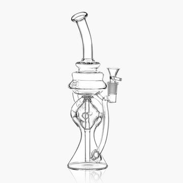 Recycler Dab Rig Diffused Downstem - INHALCO
