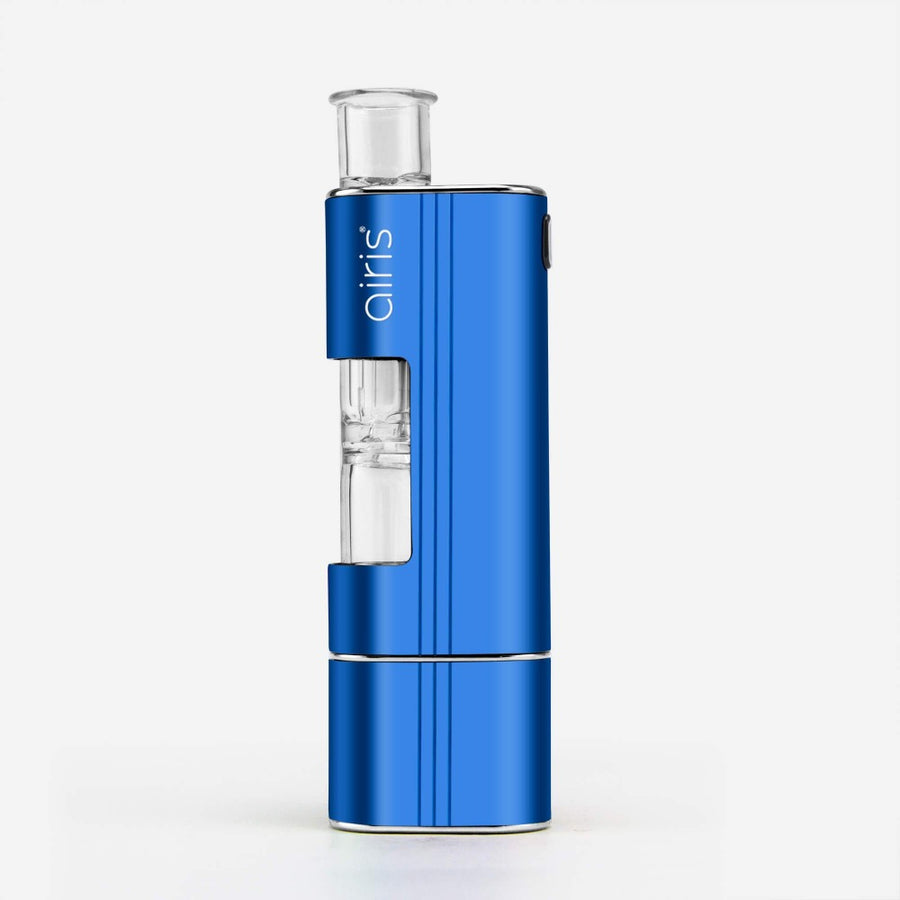 Airis Headbanger Dual-use Wax Vaporizer Nectar Collector Blue - INHALCO