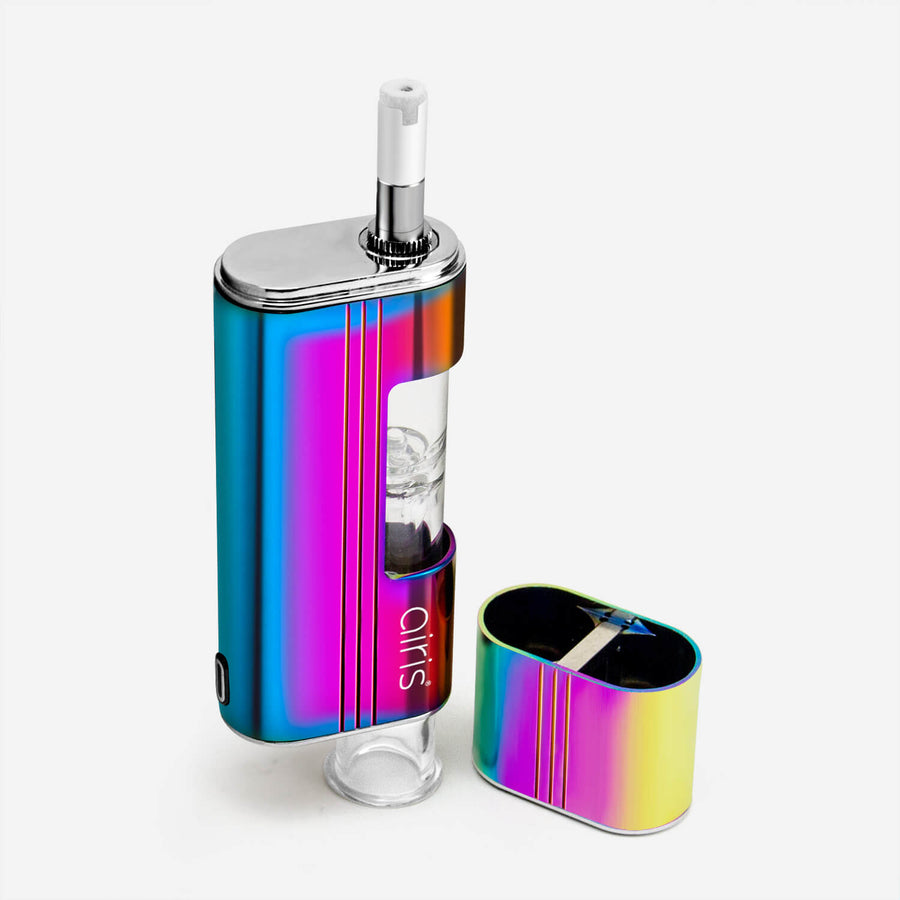 Airis Headbanger Dual-use Wax Vaporizer Nectar Collector Rainbow - INHALCO