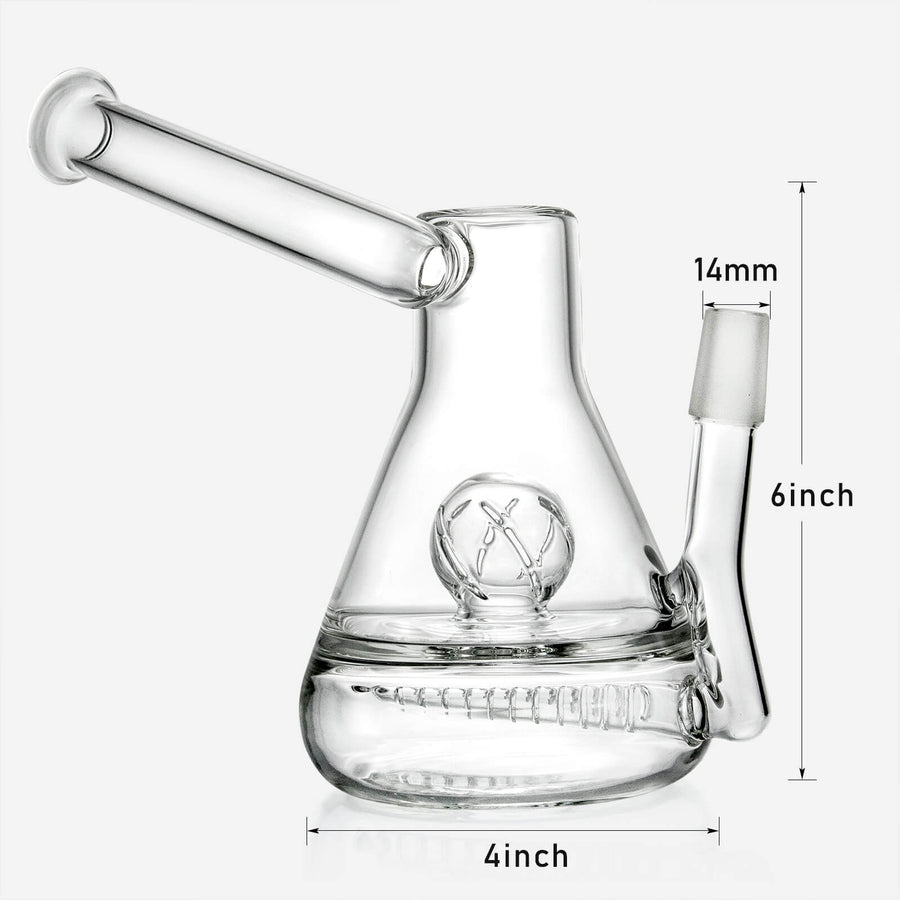 Inline to Crystal Ball Perc Sidecar Oil Rig - INHALCO