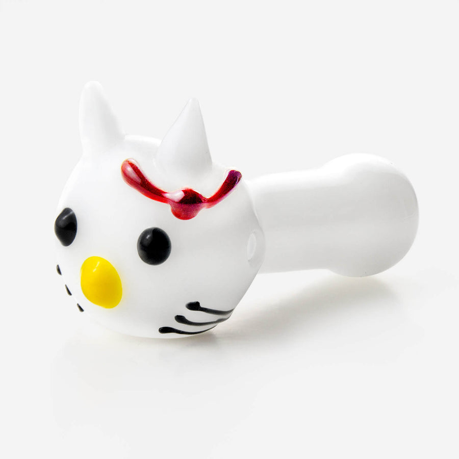 Cute Cat Glass Pipe - INHALCO