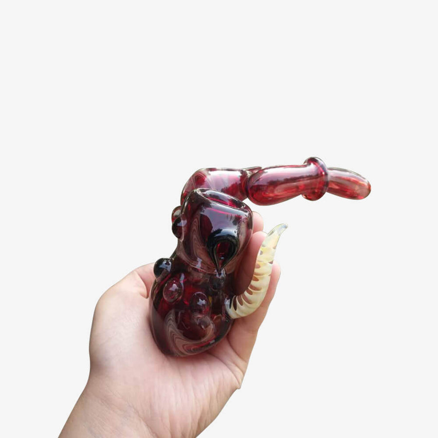 Monster Glass Pipe -INHALCO