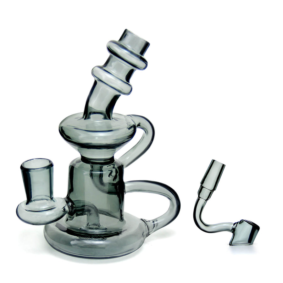 Mini Recycler Dab Rig - INHALCO