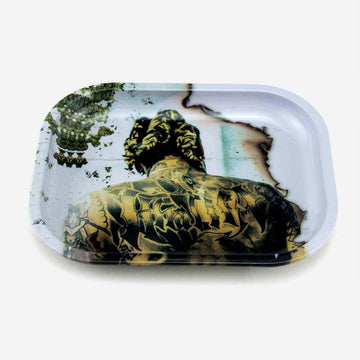 Rolling Tray Green Man - INHALCO