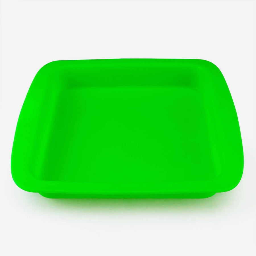 Silicone Tray Green Color - INHALCO