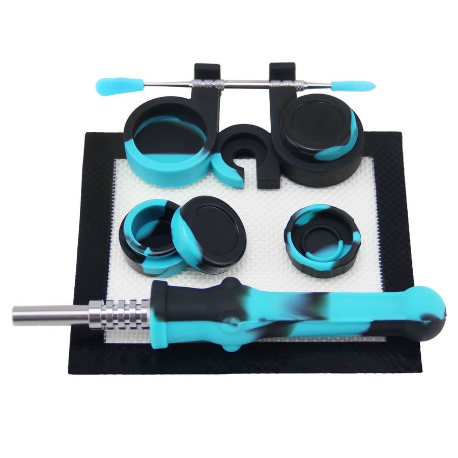 Newbie Dabber Kit - Blue&Black - INHALCO