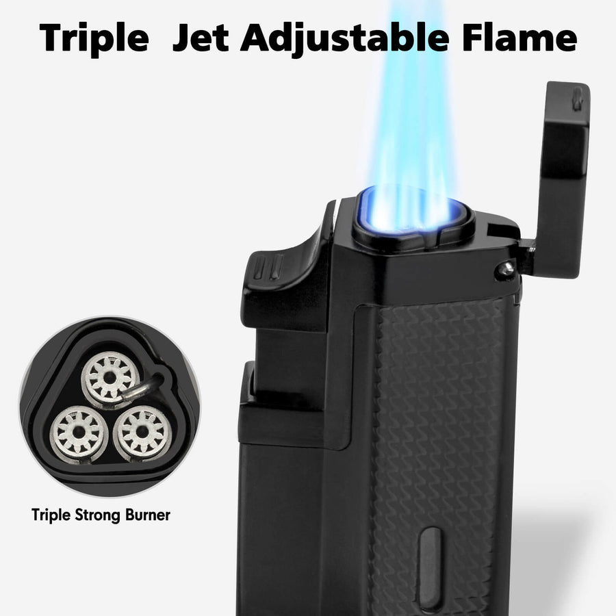Triple Jet Dab Torch - INHALCO