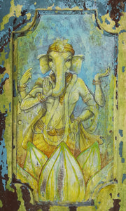 Vinayaki, the female form of Lord Ganesh.