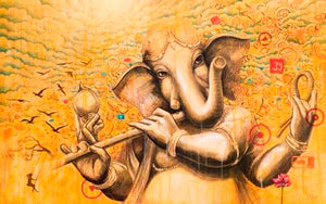 Ganesha luxury wall art