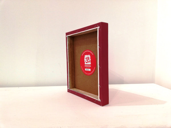 Ganesh box frame back view