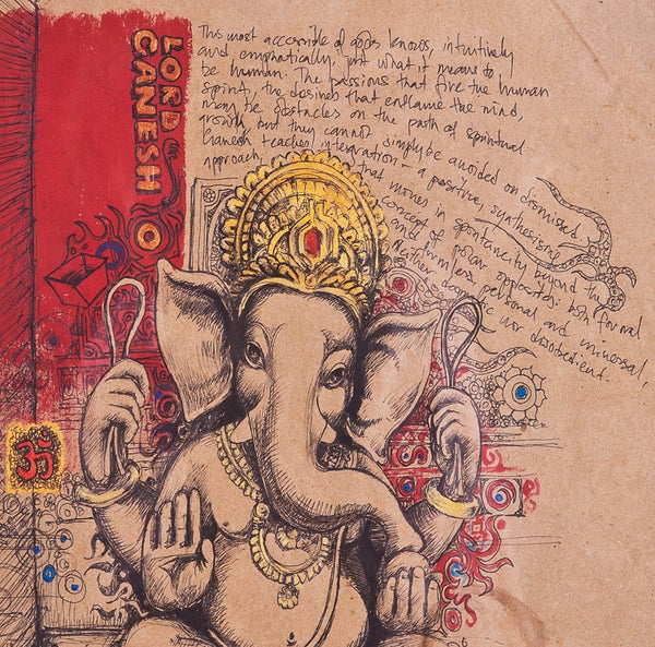 elephant god consciousness thoughts