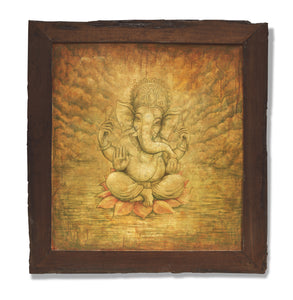 Brown-Ganesh-antique-wood