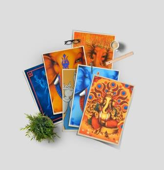 Ganesh yoga gift set