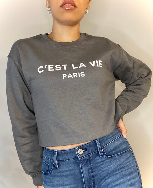 Gayla Crop Sweatshirt