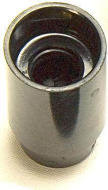 05162 - Continental Lampholder 10mm SES Smooth Skirt Black - LampFix - sparks-warehouse