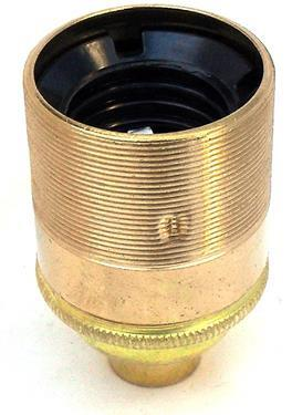 "05586 - Continental Lampholder ½"" ES Brass Threaded Skirt - Lampfix - sparks-warehouse"