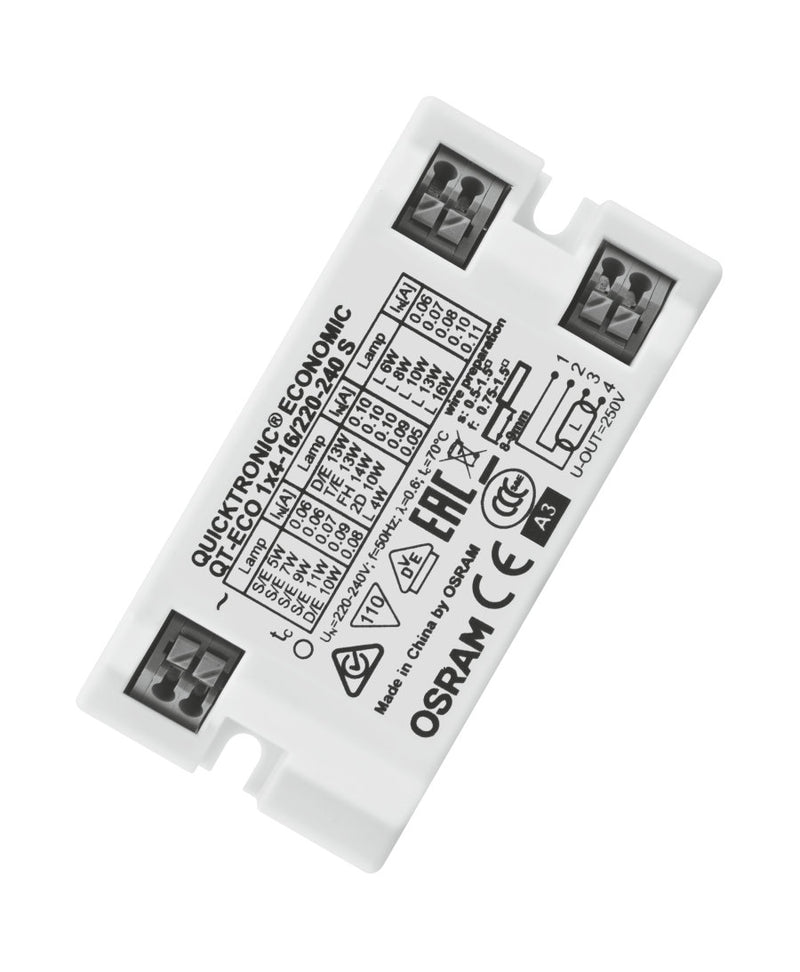 Osram QT-ECO 1x4-16/220-240 S QUICKTRONIC ECONOMIC | ECG for FL 7 mm and CFL
