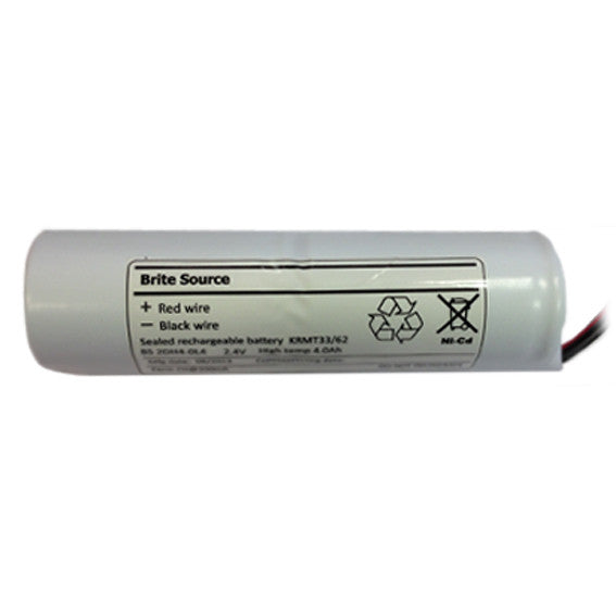 BA-2/4000DHB-CA  2 Cell Emergency Battery Stick 2.4v 4.0ah