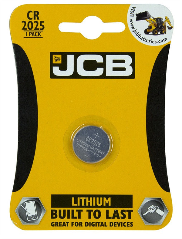 JCB CR2025 3V Battery