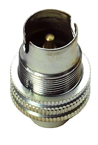 "05157 SBC Lampholder ½"" Nickel - LampFix - sparks-warehouse"