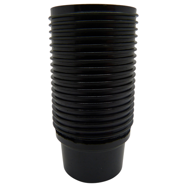 05163 Lampholder 10mm SES Threaded Skirt Black - LampFix - sparks-warehouse