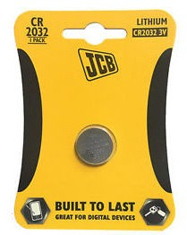 JCB CR2032 3V Battery